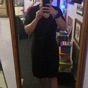NWT Liz Claiborne Black Sweater Dress Size Medium